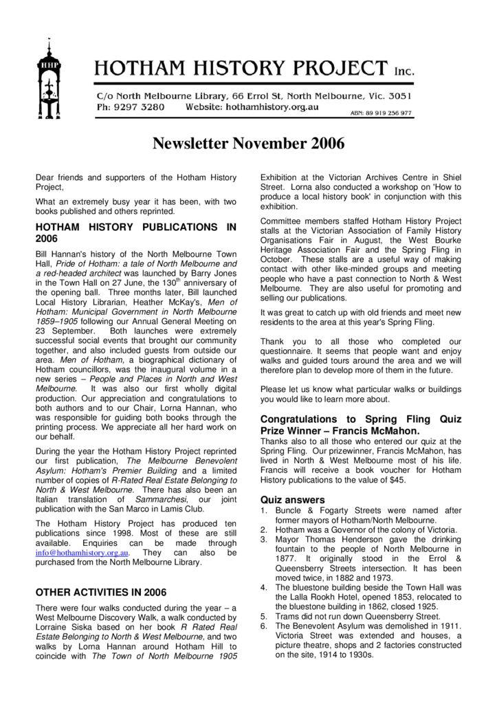thumbnail of Newsletter_04_2006_November
