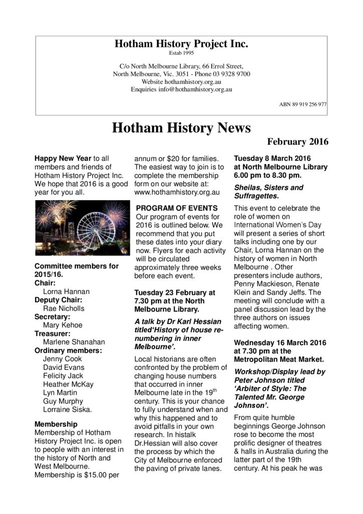 thumbnail of Newsletter_22_2016_February