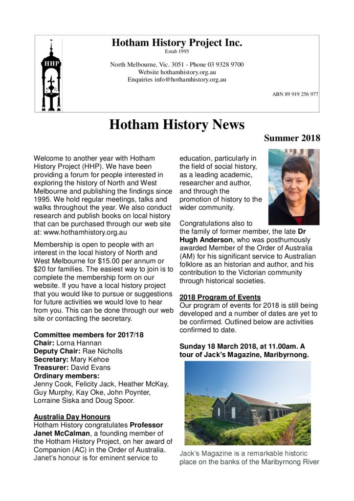thumbnail of Newsletter_26_2018_February