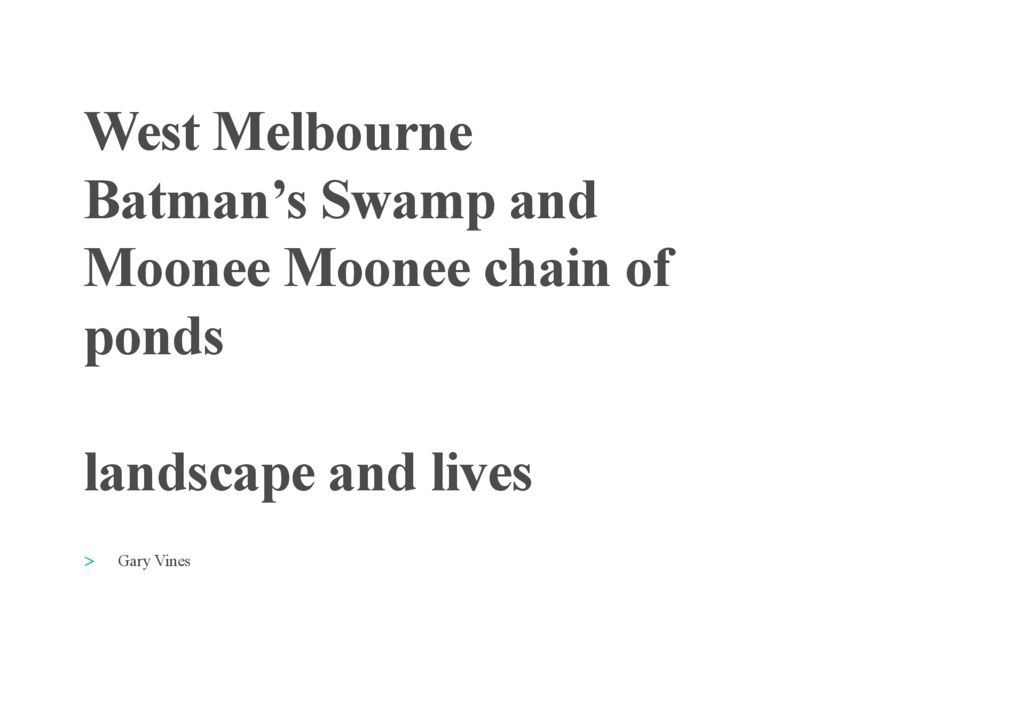 thumbnail of Gary-Vines-West-Melbourne-Batman's-Swamp-ilovepdf-compressed
