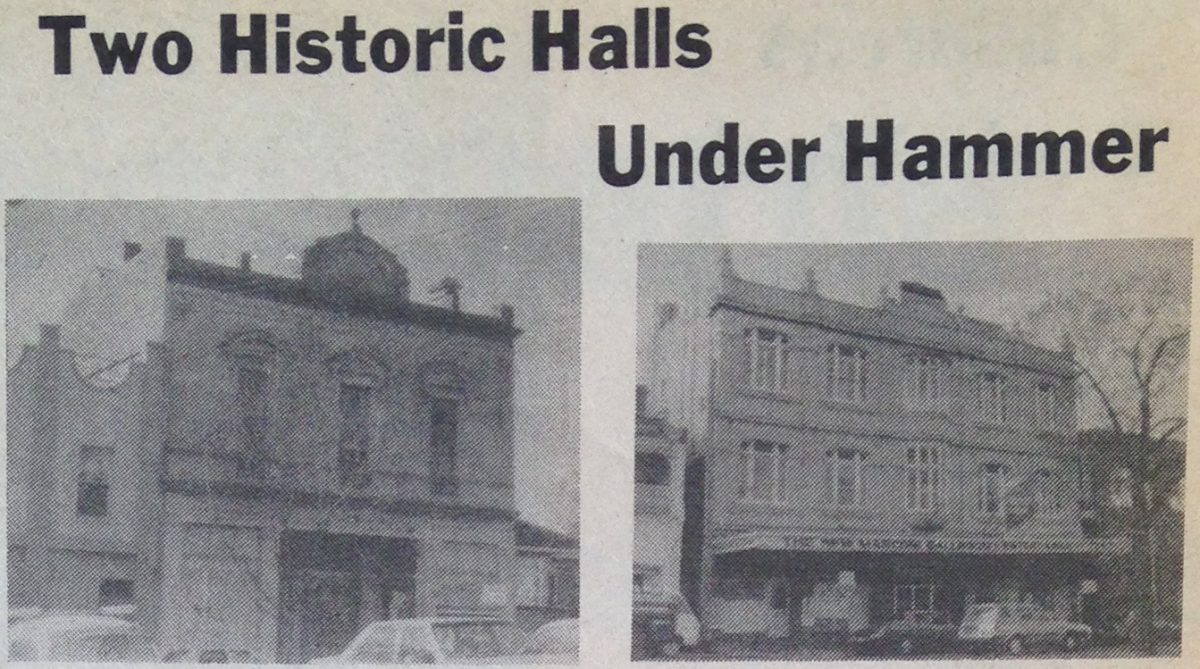 Two historic North Melbourne Halls